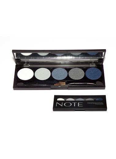 Note Note Professıonal Palet 5 Li Eyeshadow Göz Farı No 101 Renkli